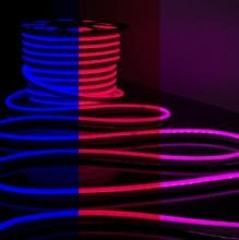 неон гибкий 220V 10W/m 80l/m IP67 RGB 50м сеч18х21 GLS-5050-80-10-220-NL-IP67-RGB