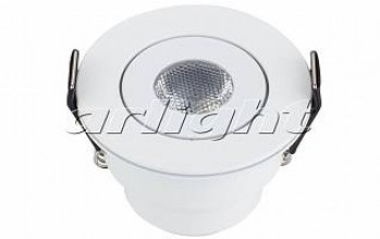 Светодиодный светильник LTM-R52WH 3W Warm White 30deg