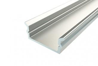 Профиль накладной алюминиевый LC-LP-0616- Anod, 2м