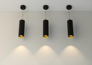 Цилиндрический потолочный светильник серии ATLAS P