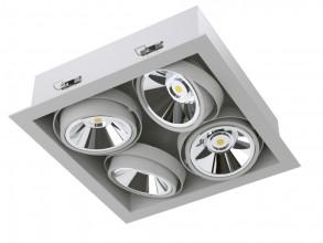 Карданный светодиодный встраиваемый светильник серии SOFIT