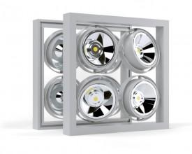 Карданный подвесной светодиодный светильник SOFIT H