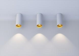 Цилиндрический накладной светильник серии ATLAS N