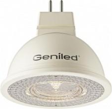 Светодиодная лампа Geniled GU5.3 MR16 6W 4200К/2700К